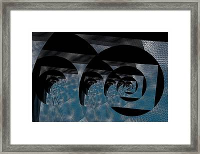 Twirling Shine Framed Print by Mihaela Stancu