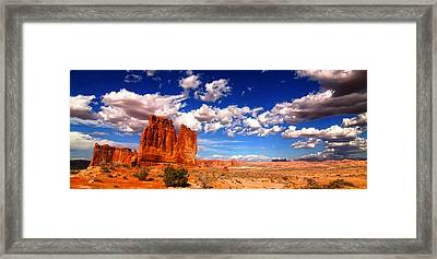 Arches National Park Framed Print by Mark Smith