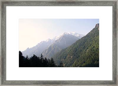 Splendors Of Himalayas Framed Print by Anand Swaroop Manchiraju
