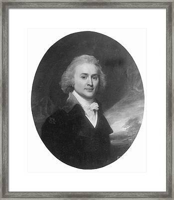 John Quincy Adams Framed Print