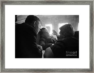 Richard Nixon (1913-1994) Framed Print by Granger