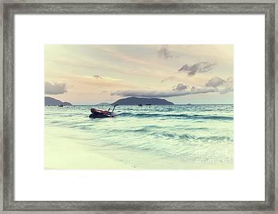 Sunrise Framed Print by MotHaiBaPhoto Prints