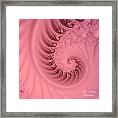 Fractal Framed Print