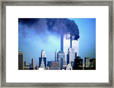 2nd Plane Approaching Framed Print by Mark Gilman