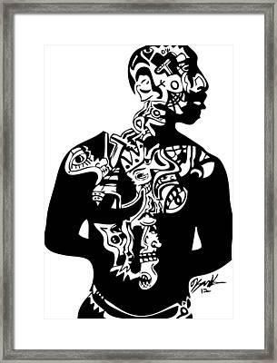 2pac First Framed Print by Kamoni Khem