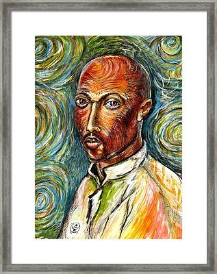 2pac Framed Print by Ion vincent DAnu