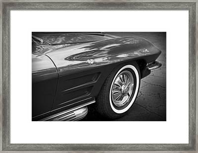 1962 Chevrolet Corvette Framed Print