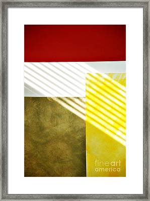 Abstract Framed Print by HD Connelly