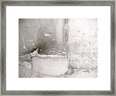 Abstract Of Abandoned Factory Wall Framed Print