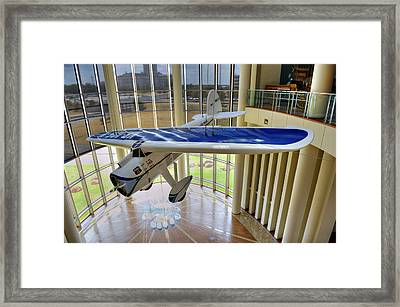 Airplane Framed Print by Malania Hammer