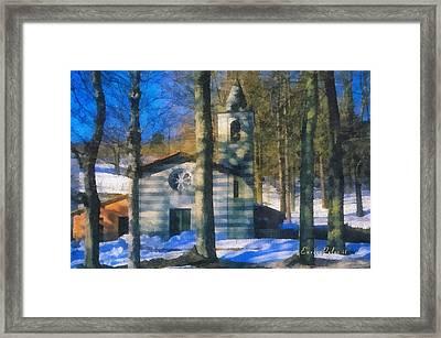 Alta Via Dei Monti Liguri - Liguria Mountains High Way Trek - Hohenweg Der Ligurischen Berge Framed Print