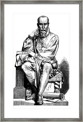 Ambroise Par�, French Surgeon Framed Print by Science Source
