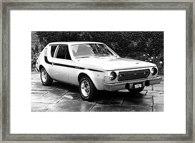 American Motors The Gremlin, The First Framed Print by Everett