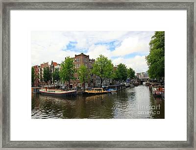 Amsterdam Framed Print by Sophie Vigneault