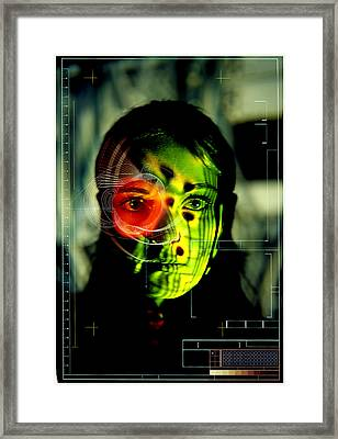 Android Robot Framed Print by Neal Grundy