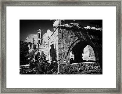 Ayia Napa Monastery Republic Of Cyprus Framed Print