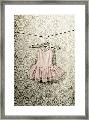 Ballet Dress Framed Print by Joana Kruse