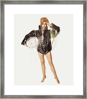 Barbarella, Jane Fonda, 1968 Framed Print by Everett
