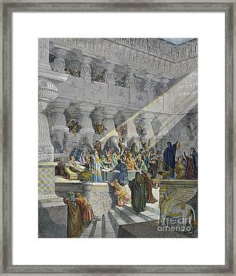 Belshazzars Feast Framed Print by Granger