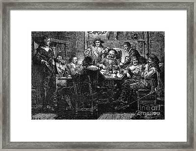Benjamin Jonson (1573-1637) Framed Print by Granger