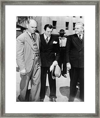 Benny Bugsy Siegel 1906-1947 Framed Print by Everett