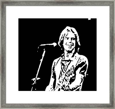 Bob Weir Framed Print by Susan Carella