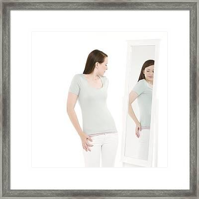 Body Image Framed Print by