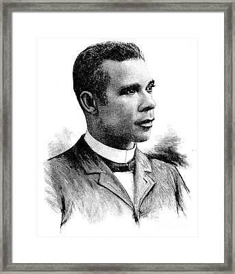 Booker T. Washington Framed Print by Granger