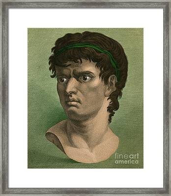 Brutus, Roman Politician Framed Print by Photo Researchers