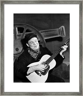 Burl Ives (1909-1995) Framed Print by Granger