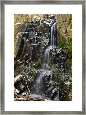 Buttermilk Falls Framed Print by Mike Horvath