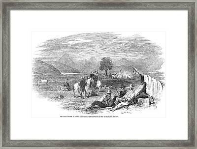 California Gold Rush, 1849 Framed Print