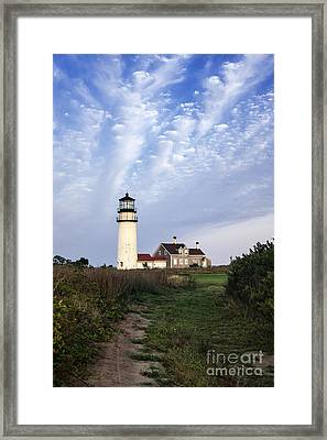 Cape Cod Light Framed Print by John Greim