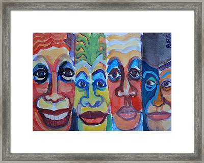 Carnival Framed Print by Rufus Norman