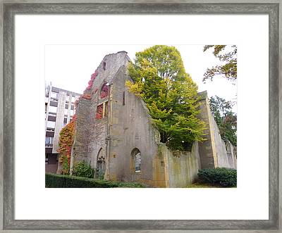 Church Of St Livier  Framed Print by Cedric Sureau