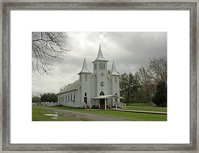 Church Framed Print by Ronald Olivier