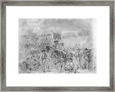 Civil War: Antietam, 1862 Framed Print by Granger
