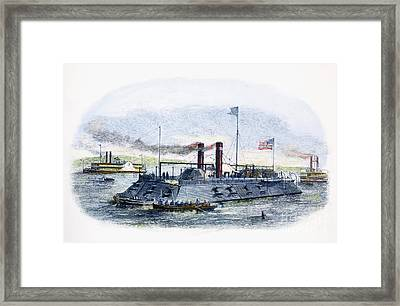 Civil War: Blockade, 1864 Framed Print by Granger