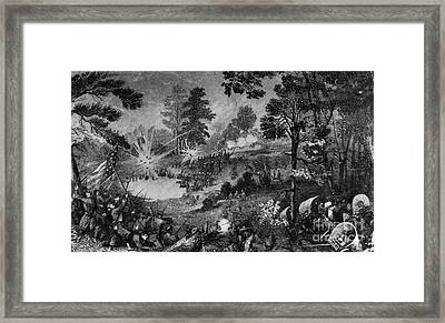 Civil War: Bull Run, 1861 Framed Print by Granger