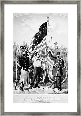 Civil War: Volunteers, 1861 Framed Print