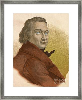 Claude-louis Berthollet, French Chemist Framed Print by Science Source
