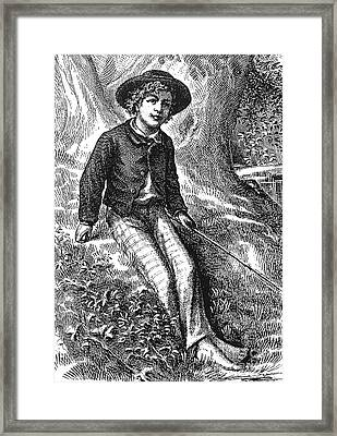 Clemens: Tom Sawyer Framed Print by Granger