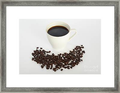 Coffee Framed Print by Photo Researchers, Inc.