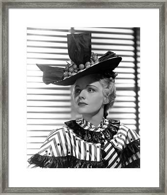 Come And Get It, Frances Farmer, 1936 Framed Print by Everett