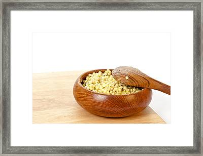 Cous Cous Salad Framed Print