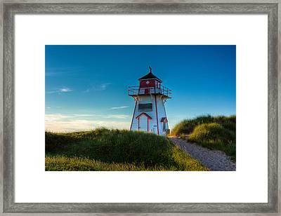 Cove Head Lighthouse Framed Print by Matt Dobson