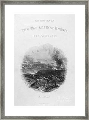 Crimean War: Sevastopol Framed Print by Granger