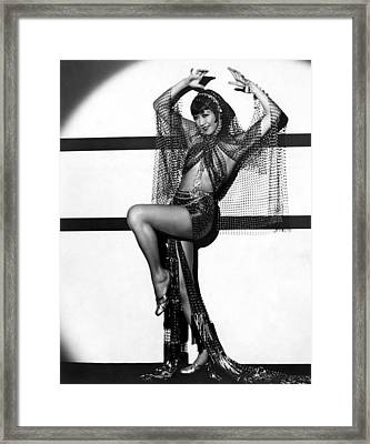 Daughter Of The Dragon, Anna May Wong Framed Print by Everett