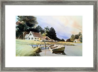 Doc Jacksons Place Framed Print by Don F  Bradford
