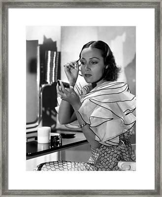 Dolores Del Rio, Ca. 1930s Framed Print